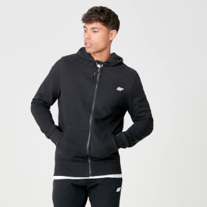 Myprotein Tru-Fit Full Zip Hoodie - Black