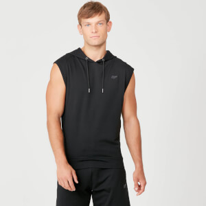 Myprotein Form Sleeveless Hoodie - Black