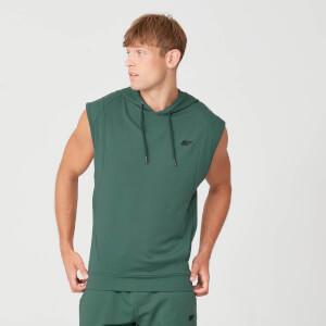 Felpa smanicata con cappuccio Form - Verde abete