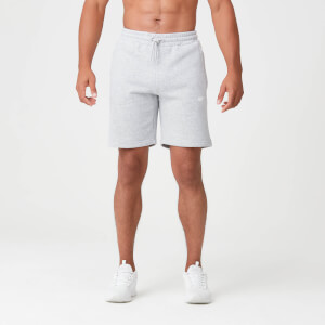 Tru-Fit Sweat Shorts - Grey Marl