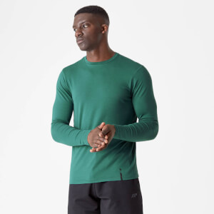 MP Luxe Classic Long Sleeve Crew - Pine