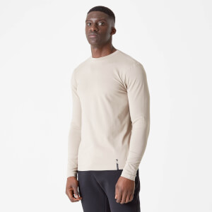 MP Luxe Classic Long Sleeve Crew - Taupe