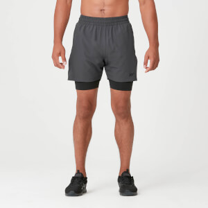 Myprotein Power Shorts - Slate