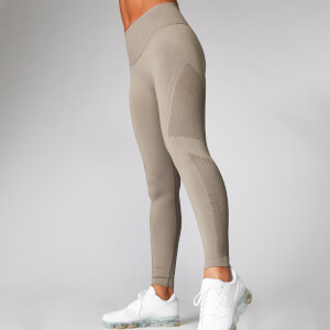 Myprotein Shape Seamless Leggings - Taupe