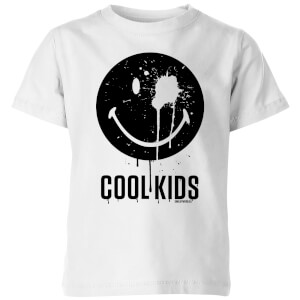 Smiley World Slogan Cool Kids Kids' T-Shirt - White