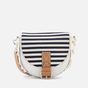 JW Anderson Women's Small Bike Bag with Lacing - White Breton