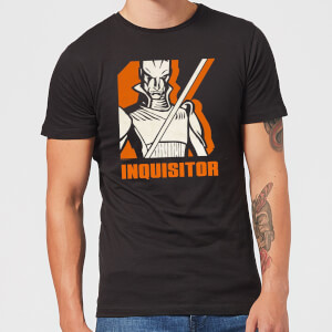 T-Shirt Homme Inquisitor Star Wars Rebels - Noir