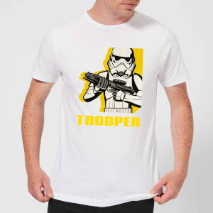 Star Wars Rebels Trooper Men's T-Shirt - White