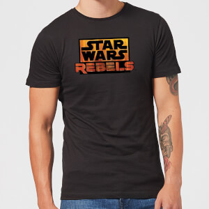 Star Wars Rebels Logo Men's T-Shirt - Black