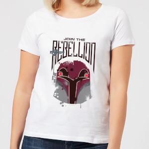 Star Wars Rebels Rebellion Women's T-Shirt - White