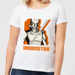 Star Wars Rebels Inquisitor Women's T-Shirt - White
