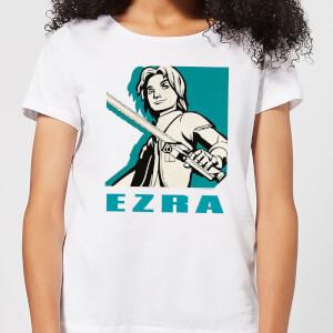 Star Wars Rebels Ezra Women's T-Shirt - White