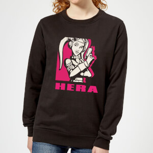 Star Wars Rebels Hera Women's Sweatshirt - Black