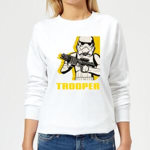 Star Wars Rebels Trooper Women's Sweatshirt - White