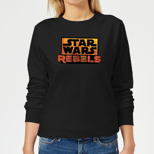 Star Wars Rebels Logo Women's Sweatshirt - Black