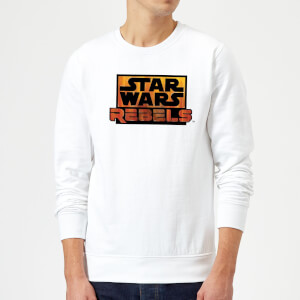 Star Wars Rebels Logo Sweatshirt - White