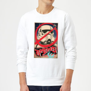 Sweat Homme Poster Star Wars Rebels - Blanc
