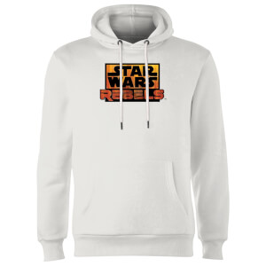Sweat à Capuche Homme Logo Star Wars Rebels - Blanc
