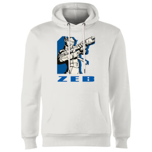 Sudadera Star Wars Rebels Zeb - Blanco