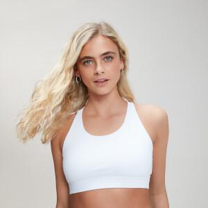 Myprotein Control Sports Bra - White