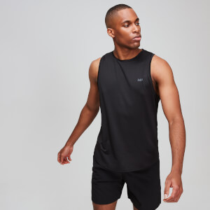 Essentials Training Tank Top - Black