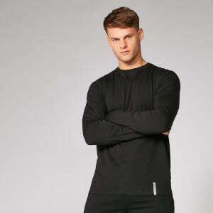 Luxe klassiek shirt met lange mouwen en ronde hals
