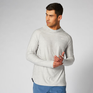 Myprotein Dry Tech Infinity Hoodie - Silver