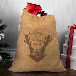 Meowy Christmas Christmas Sack