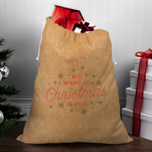 All I Want for Christmas Is You Christmas Sack