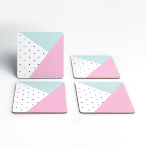 Cute Pattern Coasters (Pack of 4)