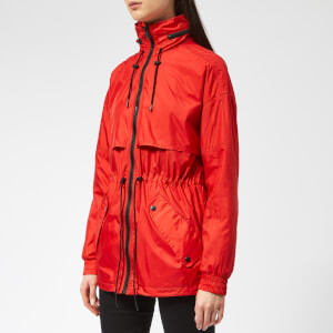 KENZO Women's Elasticated Windbreaker - Medium Red
