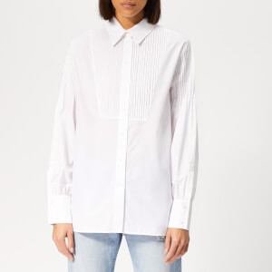 KENZO Women's Cotton Poplin Shirt - White