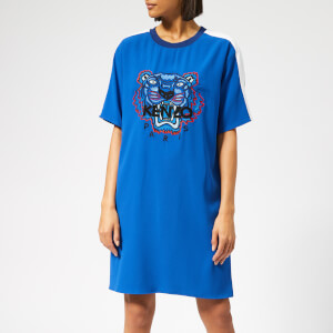 KENZO Women's Tiger Tee Dress - French Blue