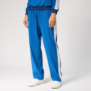 KENZO Women's Side Stripe Jogpants - French Blue