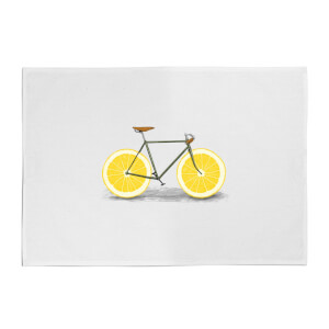 Florent Bodart Citrus Lemon Cotton Tea Towel