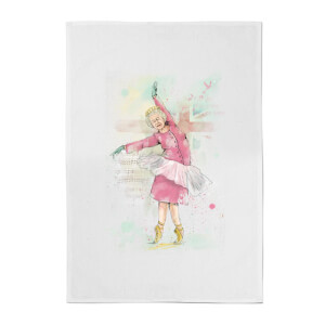 Balazs Solti Dancing Queen Cotton Tea Towel