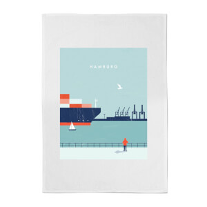 PlanetA444 Hamburg Cotton Tea Towel
