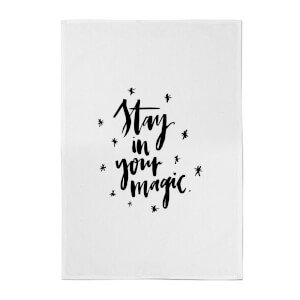PlanetA444 Stay In Your Magic Cotton Tea Towel