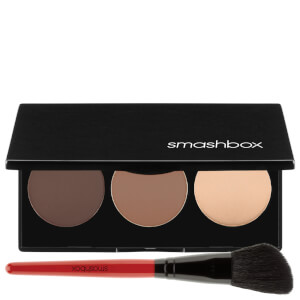 Kit de contouring Step-By-Step de Smashbox - Claro/medio