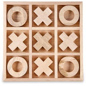 Nkuku Mango Wood Noughts & Crosses - Mango Wood