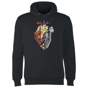Tobias Fonseca Flower Heart Spring Hoodie - Black