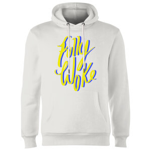 Rock On Ruby Fully Woke Hoodie - White