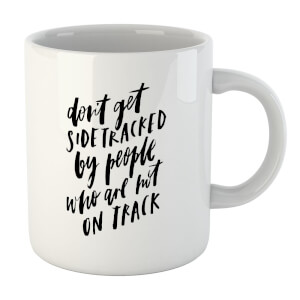 PlanetA444 Don't Get Sidetracked Mug