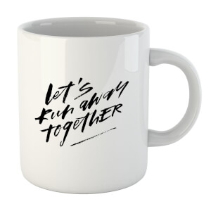 PlanetA444 Let' Run Away Together Mug