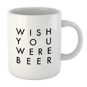 PlanetA444 Wish You Were Beer Mug