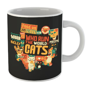 Tobias Fonseca Who Run The World? Cats. Mug