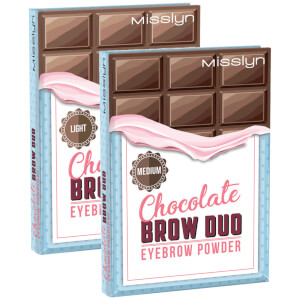 Chocolate BROW DUO EYEBROW POWDER dark