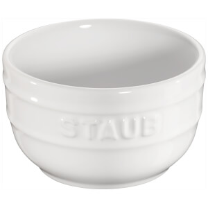 Staub Ceramic Round Ramekins - White