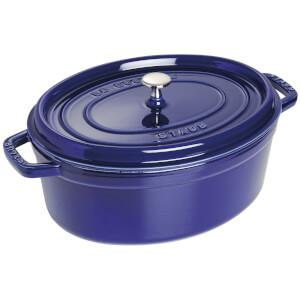 Staub Oval Cocotte - Dark Blue - 31cm