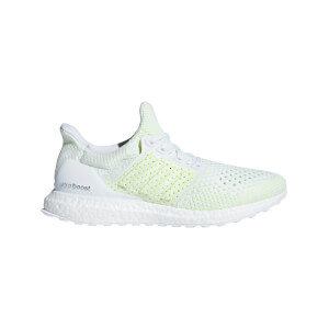 adidas Men's Ultraboost Clima Running Shoes - White/Green